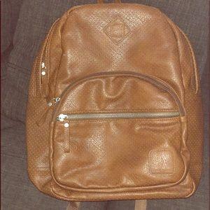 Medium Vegan leather backpack